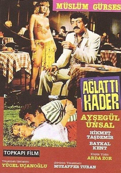 Müslüm Gürses Ağlattı Kader Filmi albüm kapağı