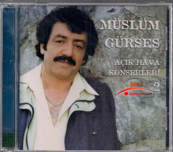 Müslüm Gürses Açık Hava Konseri – 2 Albümü albüm kapağı