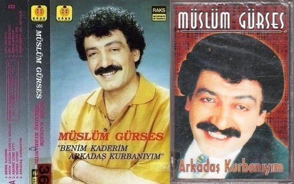 Müslüm Gürses Arkadaş Kurbanıyım Albümü albüm kapağı