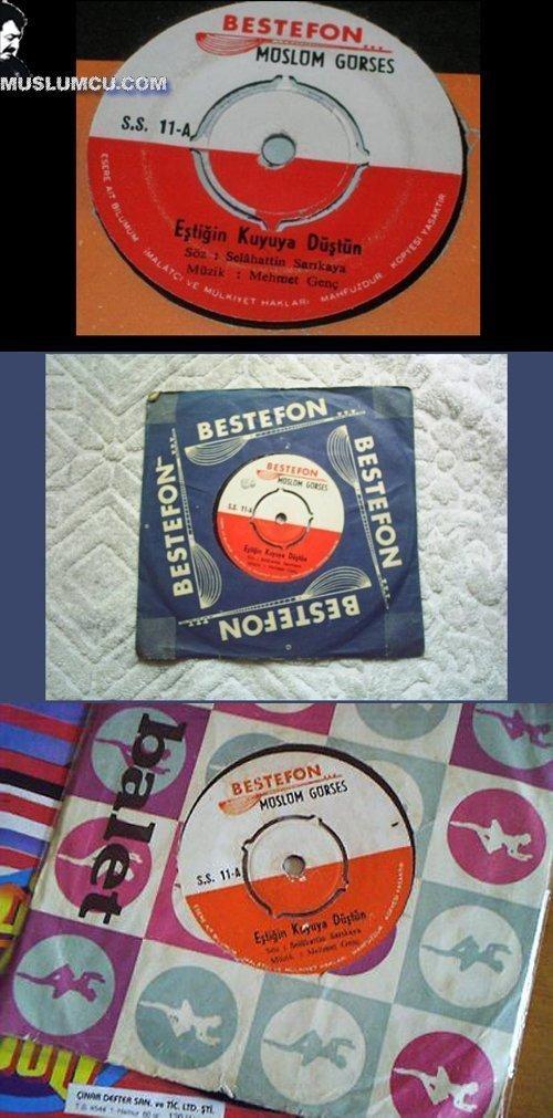 Müslüm Gürses Bestefon SS 11 (1970) albüm kapağı