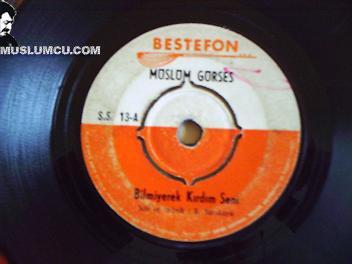 Müslüm Gürses Bestefon SS 13 (1970) albüm kapağı