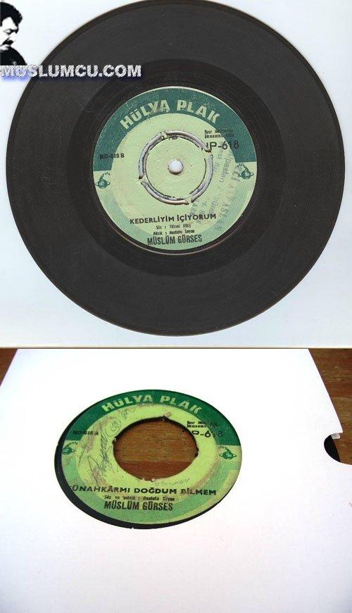 Müslüm Gürses Hülya 618 (1972) albüm kapağı