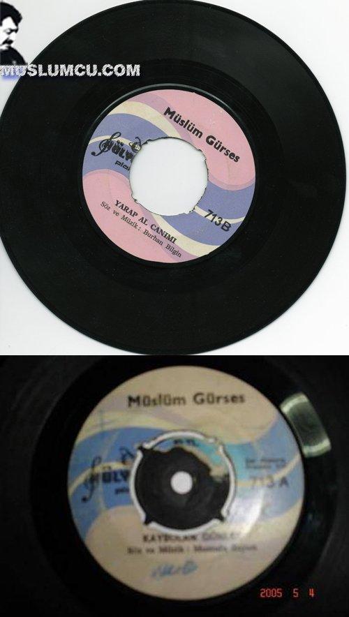 Müslüm Gürses Hülya 713 (1973) albüm kapağı