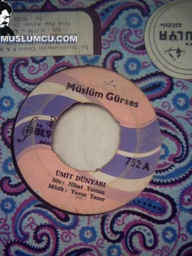 Müslüm Gürses Hülya 752 (1973) albüm kapağı