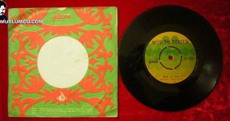 Müslüm Gürses Hülya 826 (1973) albüm kapağı