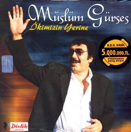 Müslüm Gürses İkimizin Yerine Albümü albüm kapağı