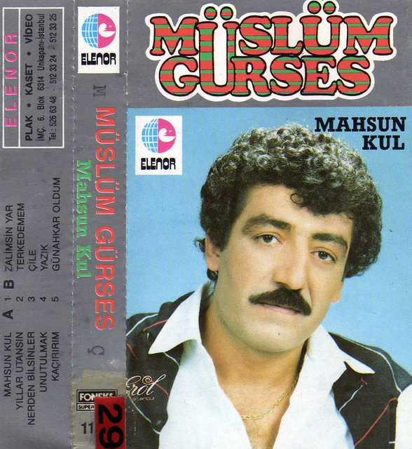 Müslüm Gürses Mahsun Kul Albümü albüm kapağı