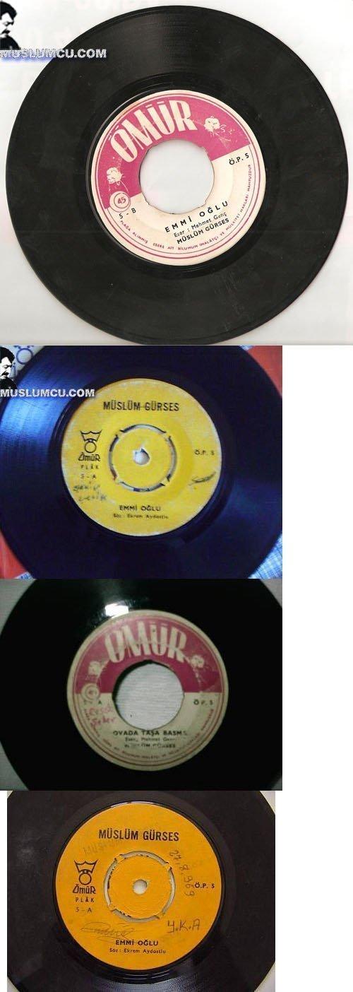 Müslüm Gürses Ömür Plak 6 (1968) albüm kapağı