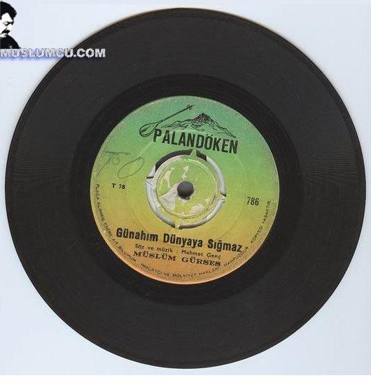Müslüm Gürses Palandöken 786 (1970) albüm kapağı